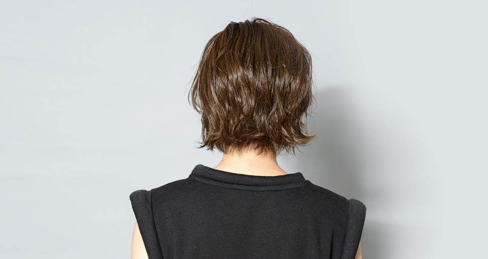 ジューシー濡れ髪ショート