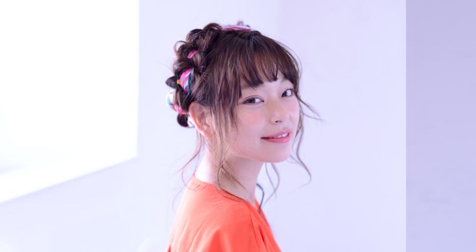 編込み×スカーフのエフォートレス・2017夏アレンジ