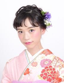 【振袖】ローズヘアアレンジ