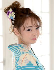 浴衣スタイル・メッシーバン