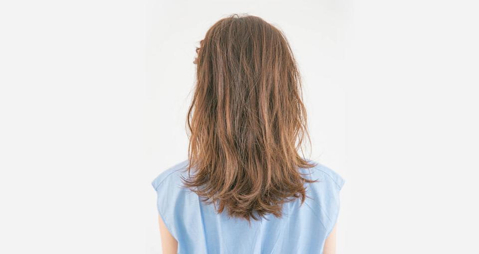前髪編み込みアレンジ